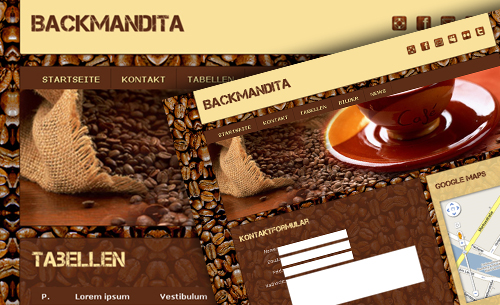 backmandita - Websitebaker Templates
