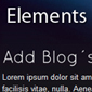 elements - Websitebaker Templates