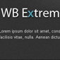 extrem - Websitebaker Templates
