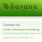 ravana - Websitebaker Templates
