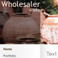 wholesalers - Websitebaker Templates