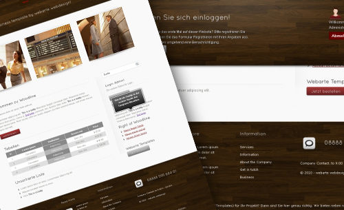 woodline - Websitebaker Templates